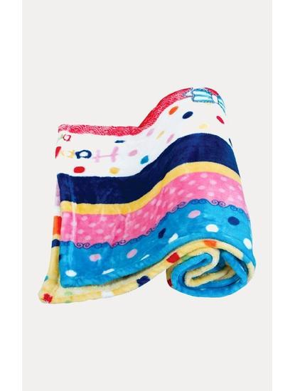 Multicoloured Printed Blanket