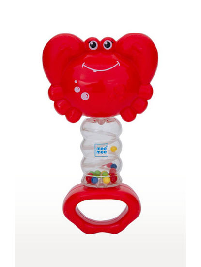 Mee Mee Cheerful Rattle Toy (Red)
