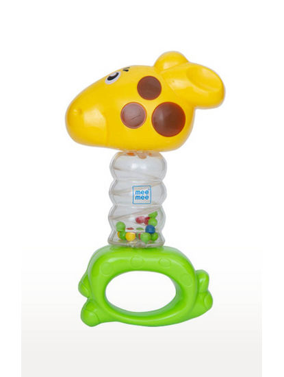Mee Mee Cheerful Rattle Toy (Yellow)