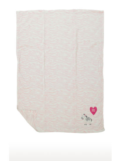 Mee Mee Multipurpose Soft Baby Blanket (Light Pink)