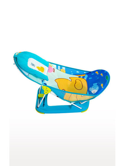 Blue Spacious Comfy Baby Bathing Tub