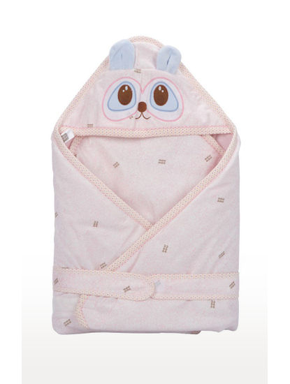 Mee Mee Baby 3-in1 Wrapper with Hood – Cream