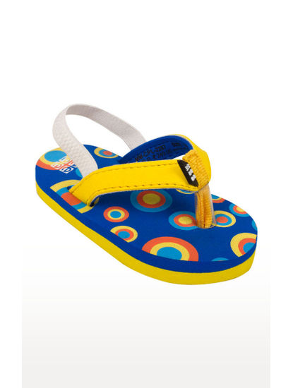 Mee Mee Unisex Flip-Flops and House Slippers_x000D_ (Blue Yellow)