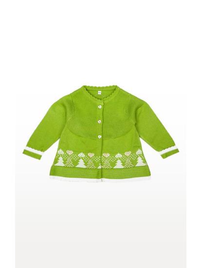 Mee Mee Full Sleeve Girls Sweater
