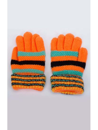 Orange Baby Gloves