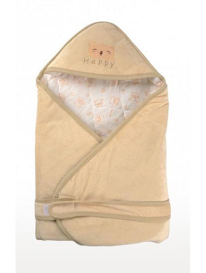Beige Baby Blanket