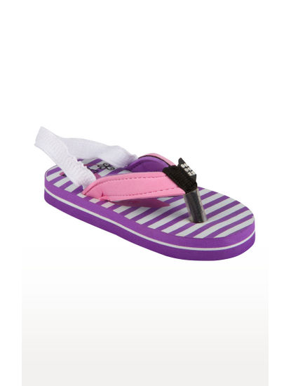 Mee Mee Unisex Flip-Flops and House Slippers_x000D_ (Purple Pink)