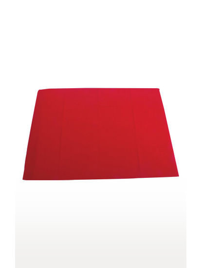 Red Solid Mat
