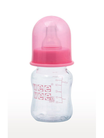 Mee Mee Premium Baby Feeding Bottle (60 ml,Pink)