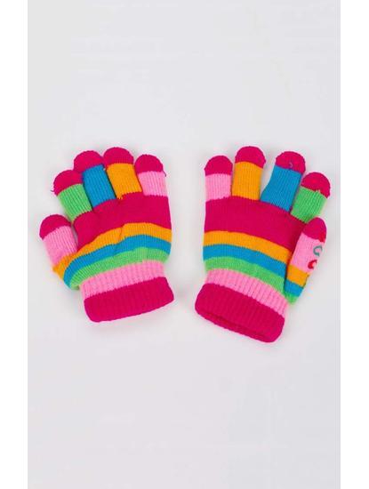 Multicoloured Baby Gloves