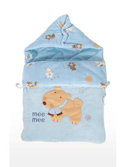 Mee Mee Baby Multipurpose Carry Nest – (Blue)