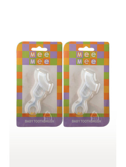 Mee Mee Transparent Tooth Brush (Single Pc)