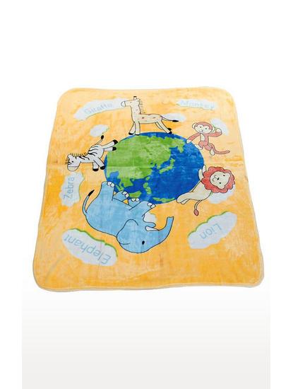 Yellow Cosy Baby Blanket