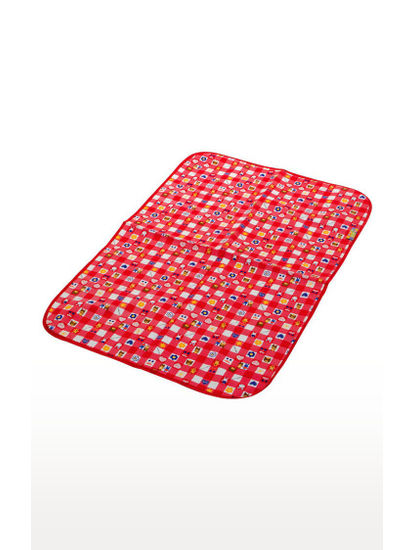 Mee Mee Reversible Multipurpose Plastic Baby Mat – (Red)