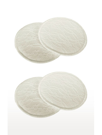 Mee Mee Washable Breast Pad (Cream)