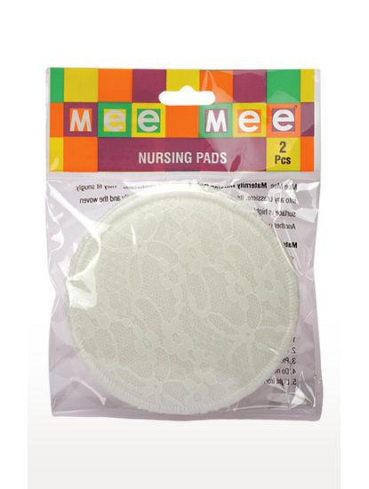 Mee Mee Washable Breast Pad (Cream)
