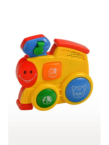 Mee Mee Four Musical Playthings Telephone (Red/Yellow)