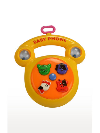 Four Musical Plaything Toy Cheerful Baby Phone