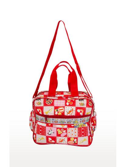Mee Mee Multifunctional Nursery and Diaper Bag (Red)