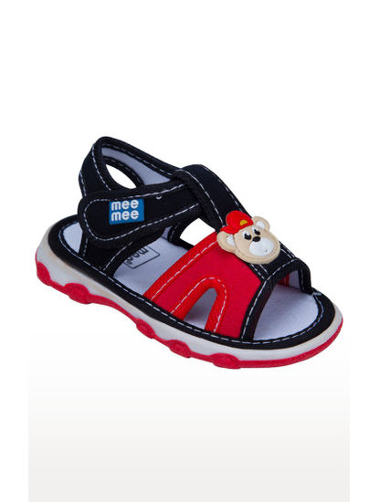 Mee Mee First Walk Baby Sandel with Chu Chu Sound (N Blue Red)