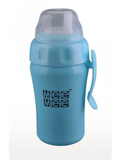 Blue Baby's Non-Spill Feeding Cup