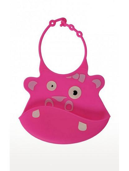 Mee Mee Water Resistant Drooler Bib (Pink)