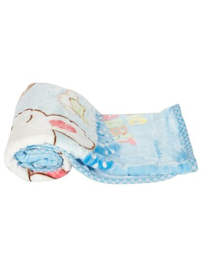 Mee Mee Cuddle Up Reversible Baby Blanket