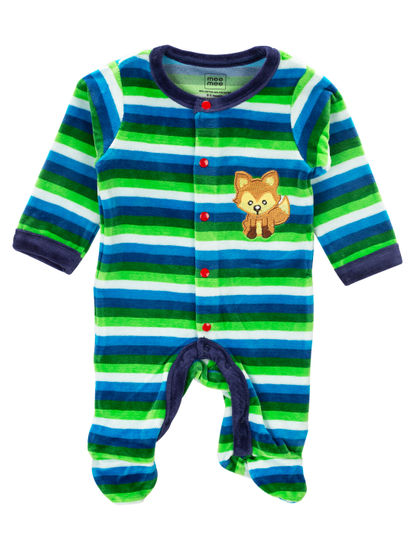 Mee Mee Full Sleeve Boys Romper (Green)