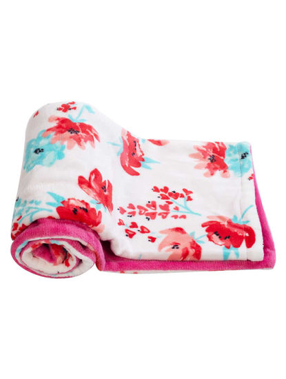 Mee Mee Double Layer Reversible Soft Baby Blanket