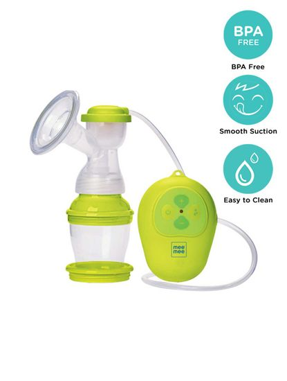 Mee Mee Micro-Computer Electric Breast Pump (Yellow)