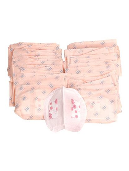 Pink Disposable Breast Pad - 48 Pieces