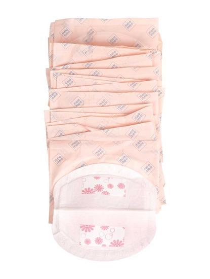 Pink Desposable Breast Pad - 24 Pieces