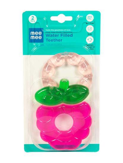 Mee Mee Multi-Textured Water Filled Teether (Pack of 2)
