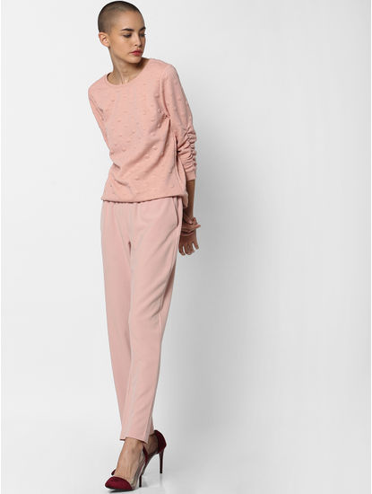 Pink Dotted Sweatshirt