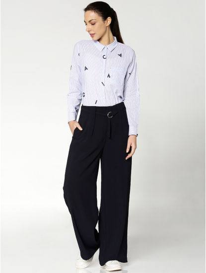 vy High Rise Wide Leg Pants