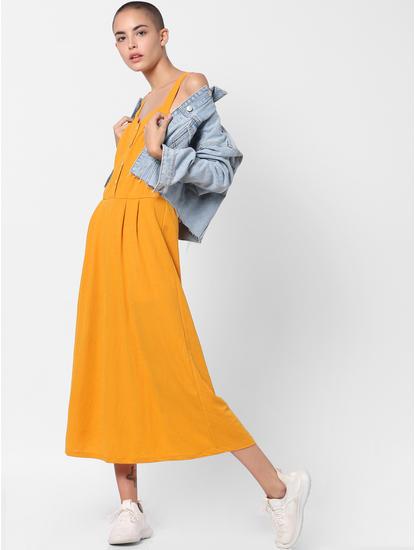 Mustard Midi Dress