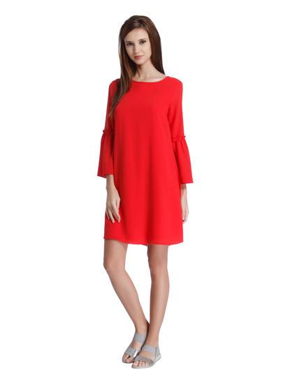 Scarlet Red Shift Dress