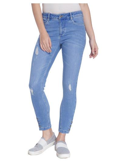 Light Blue Skinny Fit Jeans