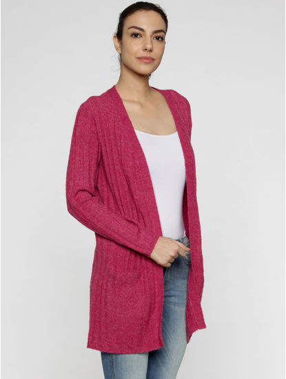 Pink Shimmery Cardigan