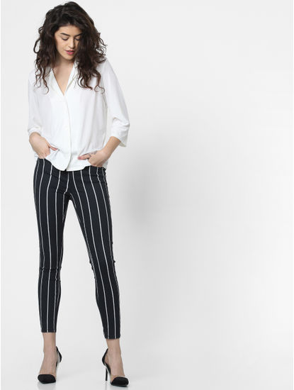 White Loose Fit Shirt