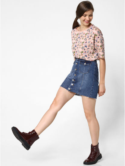 Pink All Over Print T-Shirt