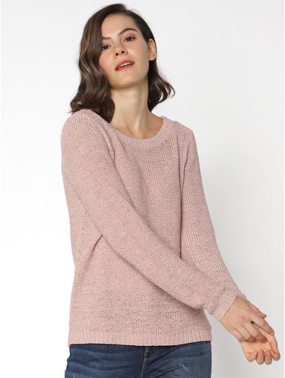 Beige Pullover