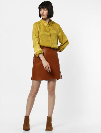 Mustard Tinted Shirt