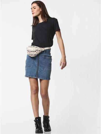 Black Pearl Embellished T-shirt