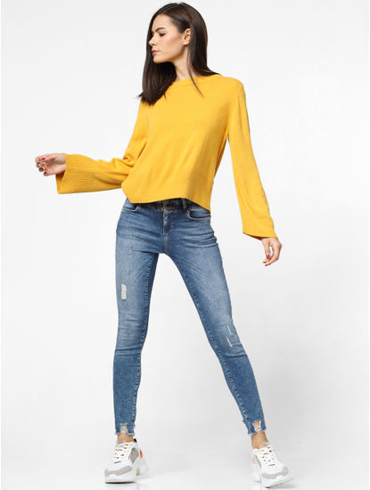 Mustard Loose Fit Pullover