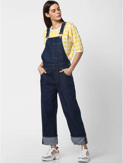 Blue Denim Dungaree