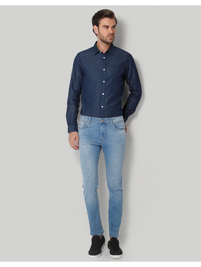 Blue Regular Fit Jeans