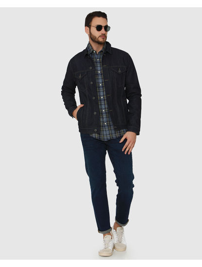 Dark Blue Scott Straight Fit Jeans
