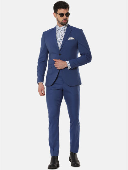 Blue Formal Slim Fit Blazer