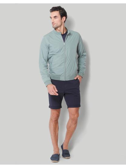 Green Casual Jacket
